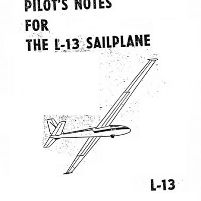 Blanik Flight & Pilots Manual Archives