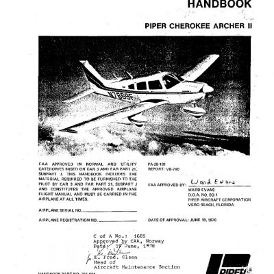 Piper PA-28 Series Cherokee Archives