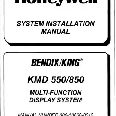 Bendix King KFC 150 Flight Control System Installation