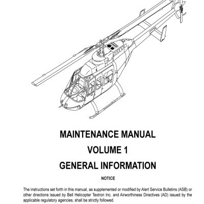 Bell Aircraft Maintenance Manuals Archives