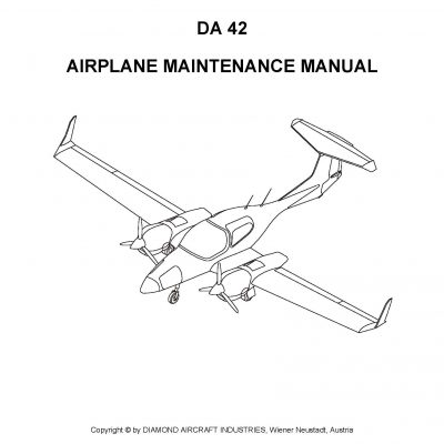 Diamond Aircraft Maintenance & Parts Manuals