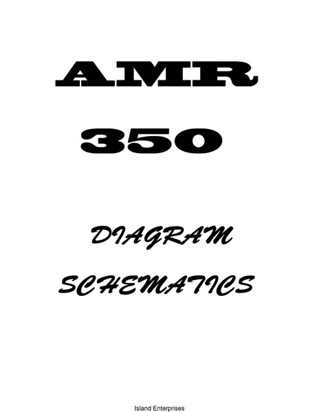 Collins Amr 350 Audio/ Marker Panel Schematic Diagrams