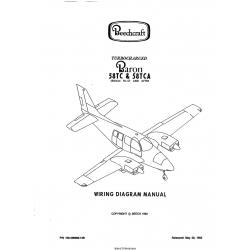 Beechcraft Turbocharged Baron 58TC & 58TCA (Serials TK-57