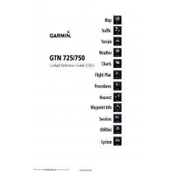 Garmin GTN 725/750 Cockpit Reference Guide 190-01007-04