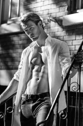 Model/Actor Joshua Alexander