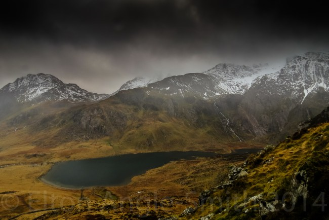 South East Over Llyn Idwal