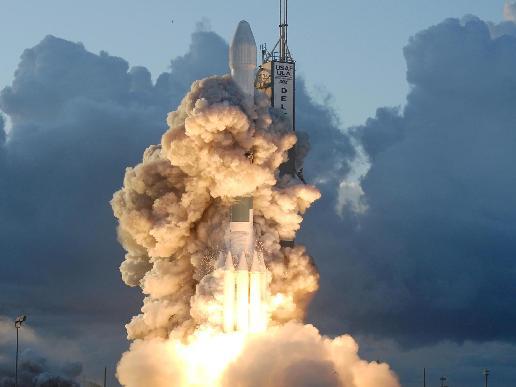 Dawn launch - courtesy NASA.