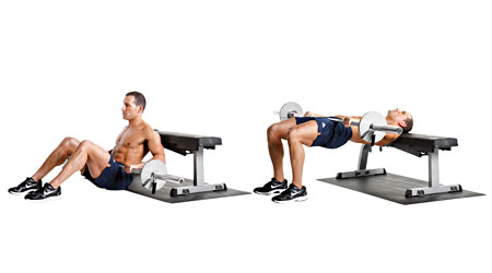 Image result for pelvic thrust workout