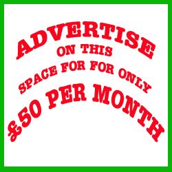 ADVERTISE here for £50