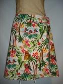 Hawaiian wrap skirt