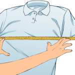 Measure across the chest
