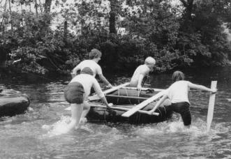 Eamont Bridge Youth Club Yearly Raft Race