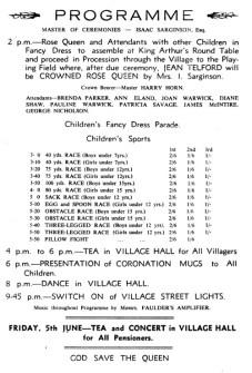 Eamont Bridge Coronation Celebrations June 2nd 1953