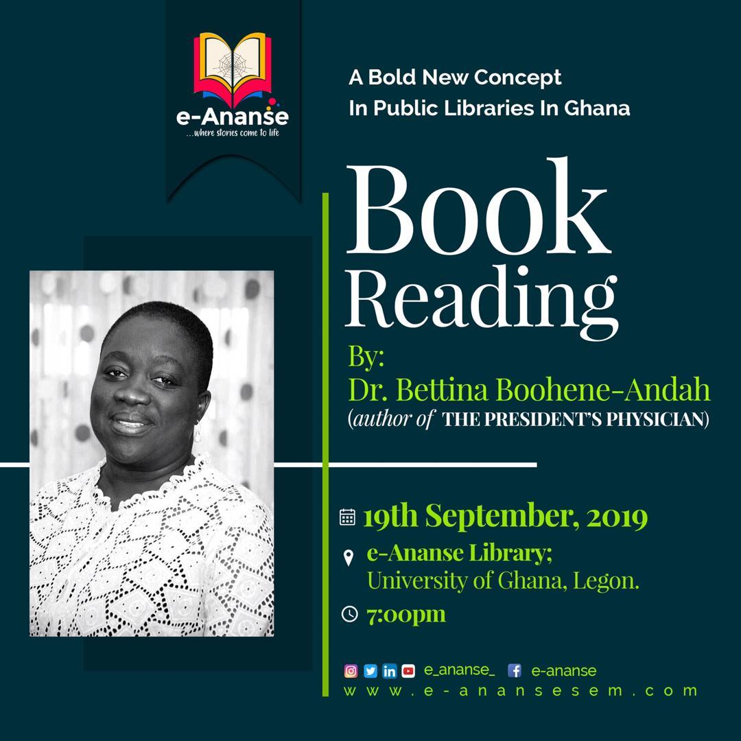 Dr Bettina Boohene-Andah (19th September 2019)