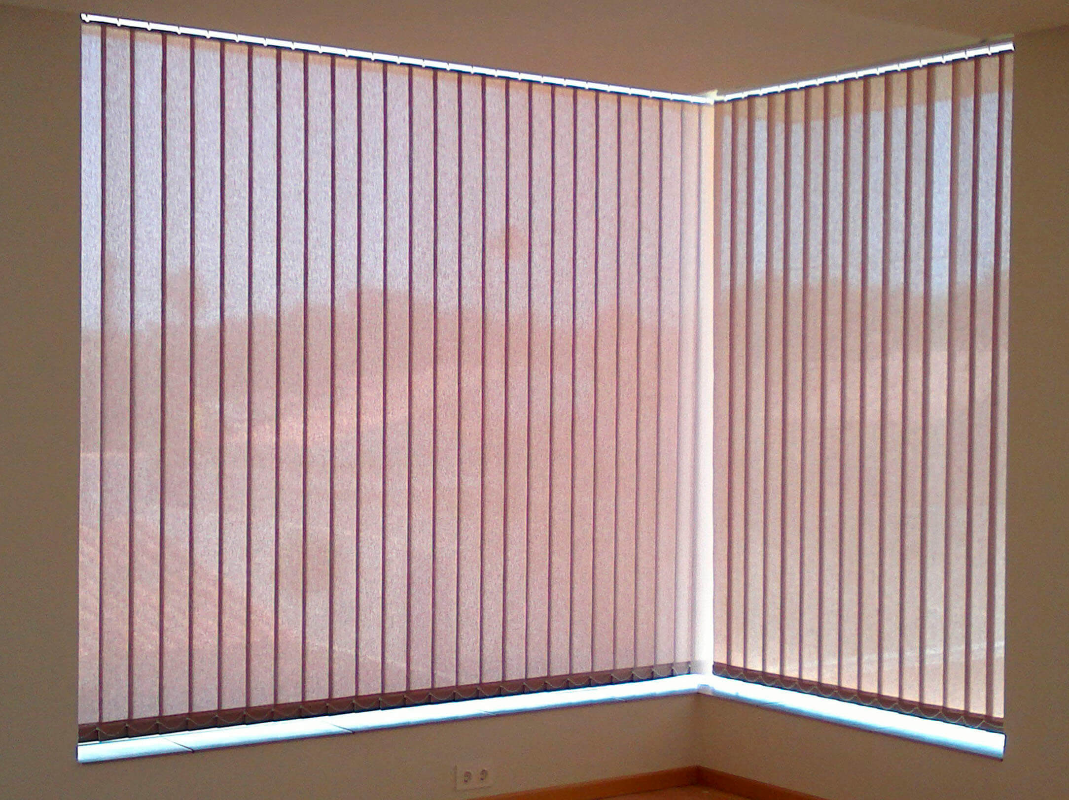Cortina De Lamas Pvc Excellent Great Estupendo Cortinas