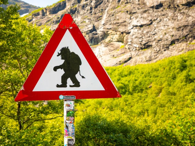 Troll warning in Norway