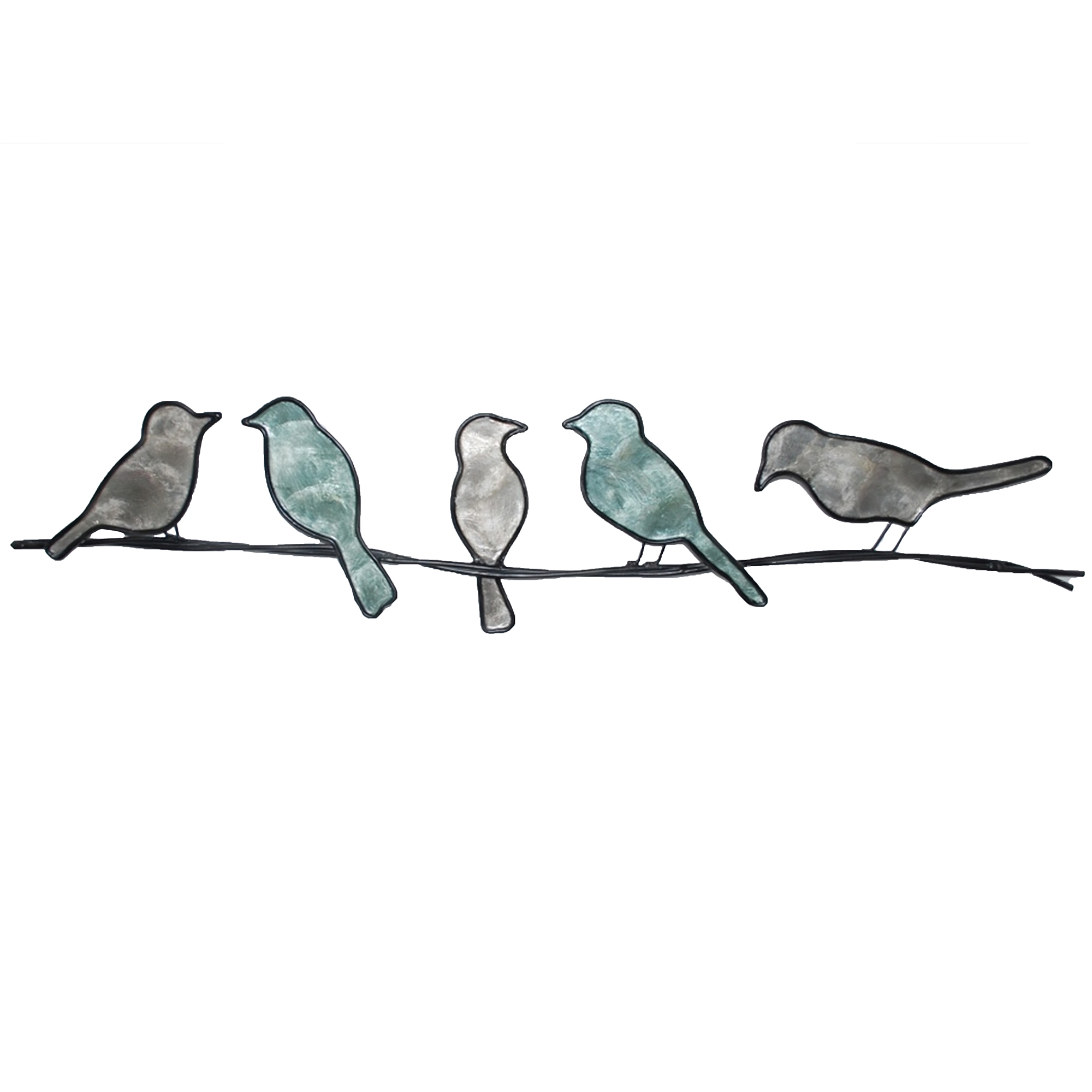 Birds On A Wire Green