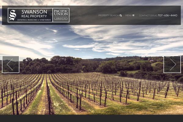 Doug Swanson – Sonoma County Real Estate Agent - website design