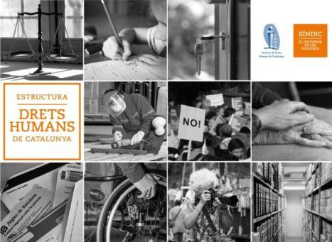 Cartell Estructura de Drets Humans de Catalunya