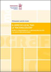 """Portada El derecho local tras la """"racionalización"""""""