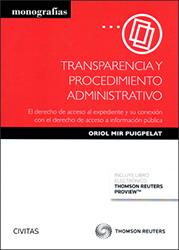 Portada Transparencia y procedimiento administrativo: el derecho de acceso al expediente y su conexión con el derecho de acceso a información pública