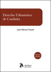 Portada Derecho urbanístico de Cataluña