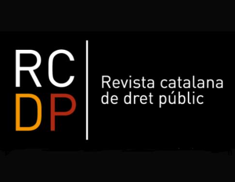 Logotip de la Revista catalana de dret públic