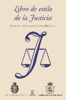 Portada Libro de estilo de la Justicia