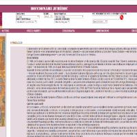 Web Diccionari jurídic (en línia)