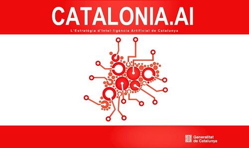 Cartell d el'eastratègia Catalonia.AI