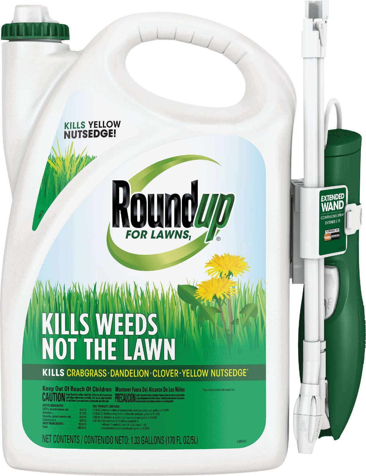 Buy Roundup For Lawns Northern Formula Weed Killer 1.33 ...