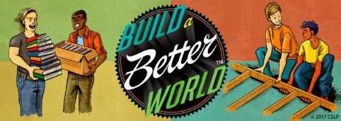 Build a Better World Logo for Teens