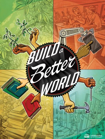 Build a Better World Teen Poster