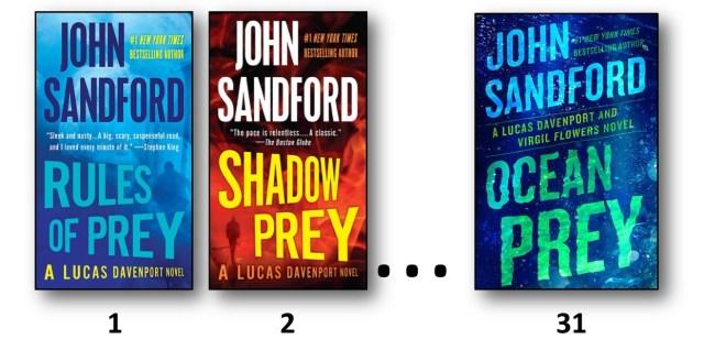 John Sandford book covers