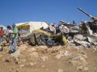 One of the demolished homes. EAPPI/S. Ntombeni. 20.06.2016.