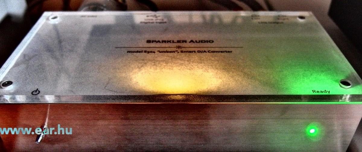 Villámrandi – Sparkler Audio S 504U USB dac