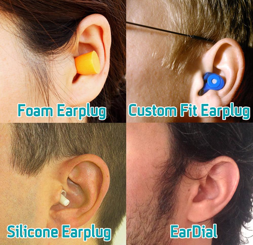 eardial hifi earplugs invisible