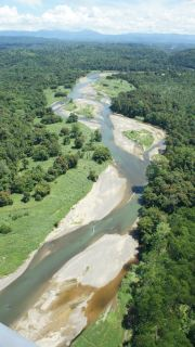 The ever changing rivers of East New Britain.
