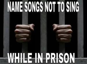 sing in prison