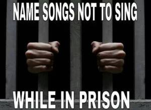 sing in prison
