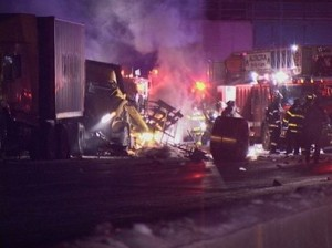 toll worker death