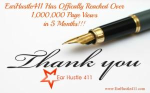 1 million thank you