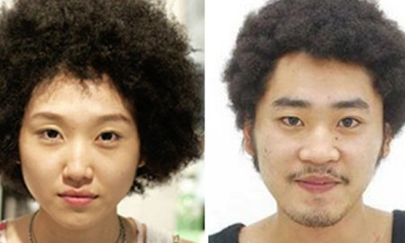 afro on japnese