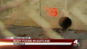 body found in suitcase