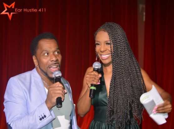 "EXCLUSIVE VIDEO INTERVIEW:   Andrea Kelly Makes Powerful Statements During Blake Martin's  ""Men's Fashion Week"""