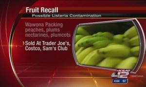 fruit recall