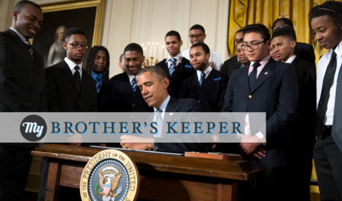 "The 11 Eleven 11 Project Supports ""My Brothers Keeper Initiative"""