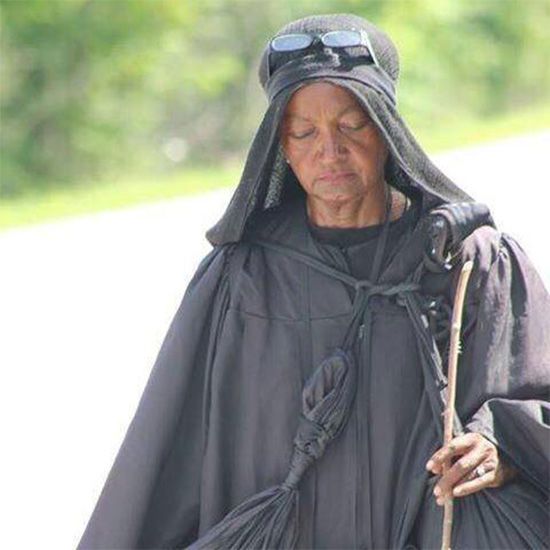 Mysterious 'Woman In Black' Identity Revealed After Igniting Online Obsession!