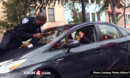 Woman Getting Ticket Drives Off With Officer on Hood Claims She Thought He Was Going To Do Something Sexual To Her