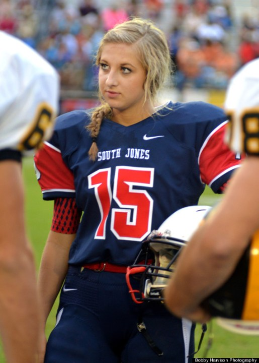 This Badass High School Football Player Is Also A Homecoming Queen